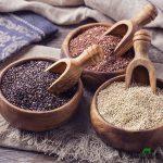 киноа quinoa три цвета