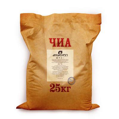 Продукция Амадеин - Чиа (семена) мешок по 25 кг